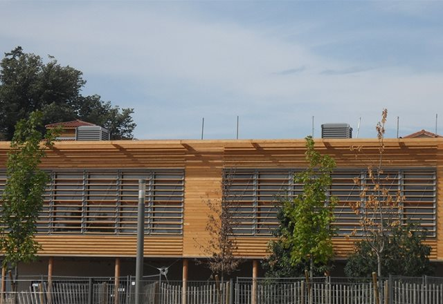 Vancia School – WINDCATCHER® X-Air Natural Ventilation Systems