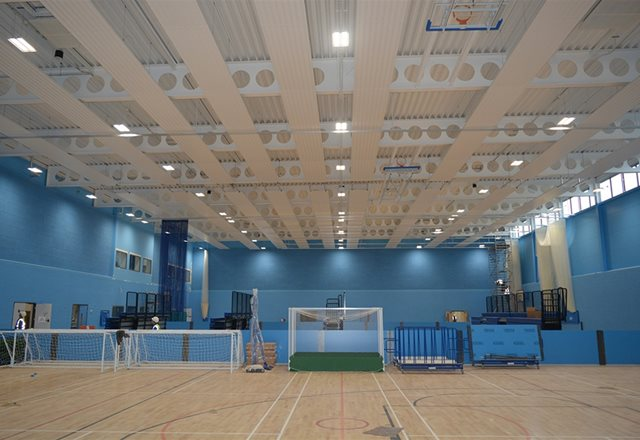 WINDCATCHER® & VENTSAIR®: Wycombe Sports Centre