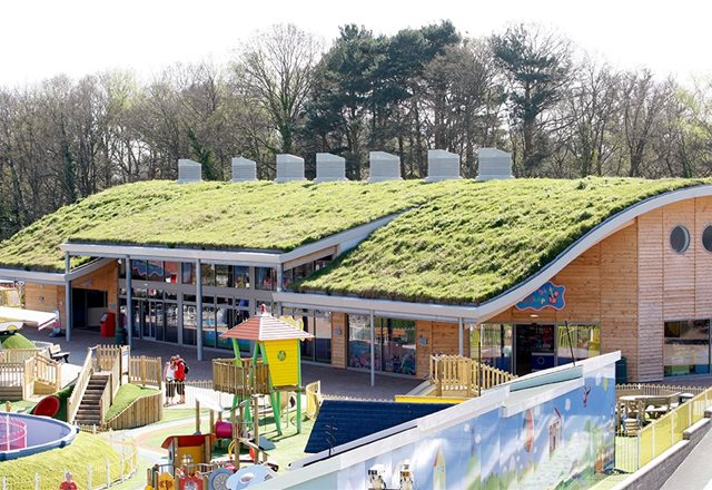 Paulton's Park harnesses natural environment to reduce carbon footprint