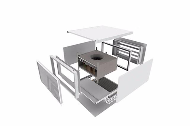 Hybrid Ventilation System : Hybrid ventilation monodraught natural