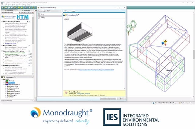 (Live Webinar)  How to use Monodraught components within the 2017 VE release