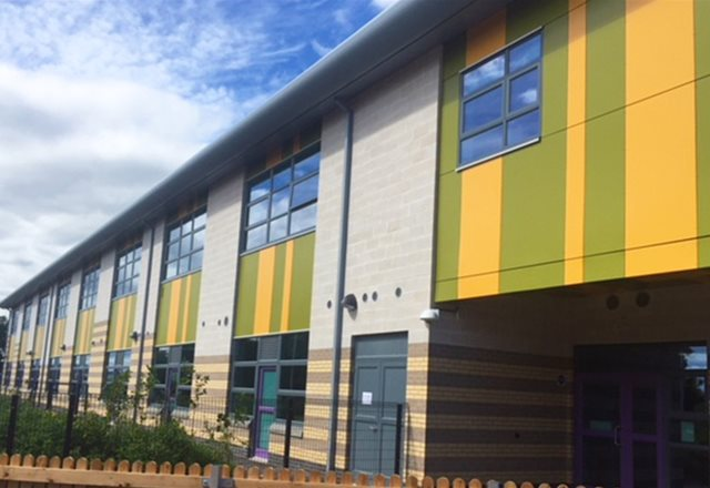 Fresh air guaranteed at brand new Tayview School