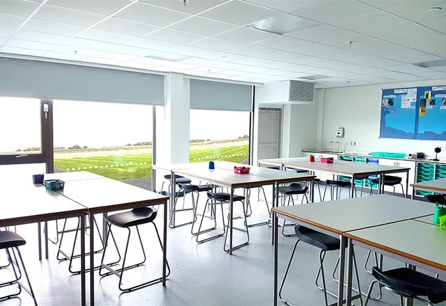 Multi-million pound school complex benefits from wide range of Monodraught ventilation solutions