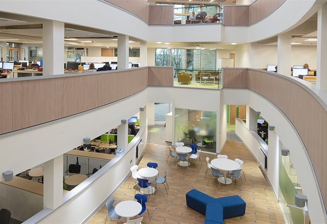 Harrogate Civic Headquarters: Cool-phase